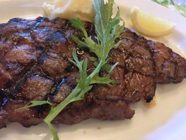 USJパークサイドグリルのステーキ